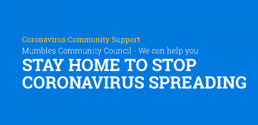 CORONAVIRUS - STAY AT HOME, PROTECT THE NHS